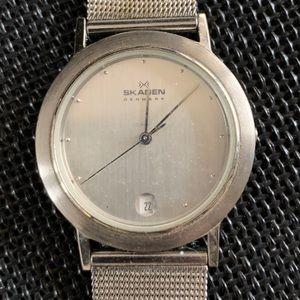 Skagen classic mesh link watch